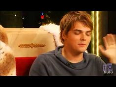 Gerard Way      I haven't even watched this video but its gerard so it's guaranteed to be beautiful