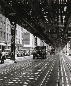 NYC, the El. (I lived by the Myrtle Ave El in Brooklyn when I went to college)
