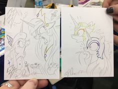 """No dialogue needed... siblings. #BronyCon #mlp @mouthnoize @StTabitha"""