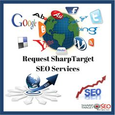 Search engine optimization (SEO) is a method of getting your website to rank higher in search engines—such as Google, Yahoo or Bing. Request SharpTarget SEO Services just at SharpTarget SEO Visit https://bit.ly/2Hc761Y