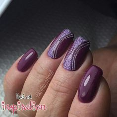 Posh Nails, Fun Nails, Colorful Nail Designs, Nail Art Designs, Paradise Nails, Purple Nail Art, Magic Nails, Latest Nail Art, Super Nails
