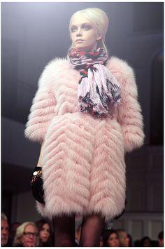 Oscar de la Renta - Pre-Fall | Flickr - Photo Sharing!  more fur fashion design inspirations at http://yukon-fur.com/Fur_Coat_Inspiration.html