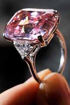 My Pink Diamond Ring....LOVE IT!!!