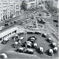 1947... Flora-fountain, Bombay India