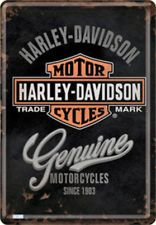 Harley Davidson Tin signs