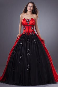 pretty red/black ball gowns - Google Search