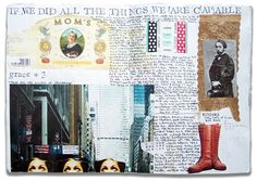 Ad Tulanian: Rule Britannia, Book no.6, artist journal by Gerard Lange