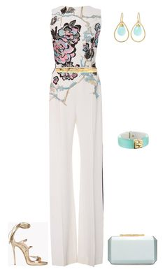 outfit 4394 by natalyag on Polyvore featuring polyvore fashion style Elie Saab Dsquared2 Oscar de la Renta Alexis Bittar NOVICA Just Cavalli clothing