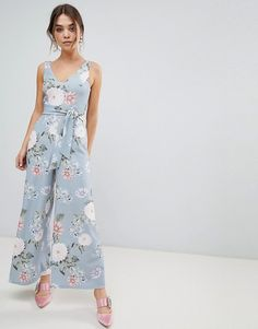 New Look   New Look Floral Jumpsuit
