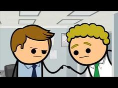 Pull My Finger - Cyanide & Happiness Shorts - YouTube
