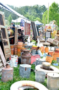 The Longest Yard Sale located on Highway 127 running from Alabama to Michigan.