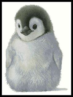 click here to view larger image of Penguin Chick (chart)