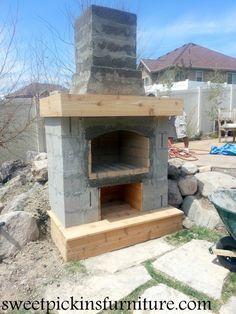 Cinder Block Outdoor Fireplace Plans | Approximate ... on Outdoor Fireplace With Cinder Blocks id=12898