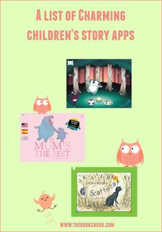 The Book Chook: A List of Charming Children's Story Apps