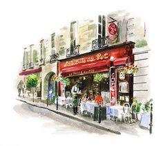 #DanWilliams #bakery #cafe #breakfast #Paris #lindgrensmith