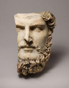 Marble portrait of the co-emperor Lucius Verus (c.161–69 CE)