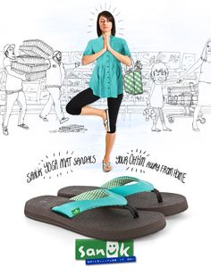 THE BEST flip flops I have ever worn. They feel like walking on clouds. I may never wear another pair of shoes ever again.