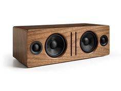 Our Absolute Favorite Gadgets of 2014 | Audioengine B2 To create its new wireless speaker, Audioengine spun out the design of its excellent Kevlar-cone bookshelf units, essentially flipping a pair of them sideways and crafting them into one, single box. The result is a fantastic-sounding $300 stereo speaker that accepts audio from any device in your home via Bluetooth or a wired connection. The B2 is compact, loud, and, given the trio of wood finishes on offer, handsome. Audioengine | ...
