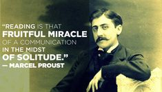 Because Swann's Way is the only way. In honor of Proust's 143rd birthday today!