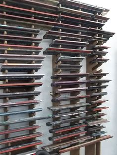 New Zealand Printmakers: Squeegee Storage