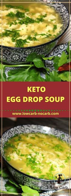 Keto Egg Drop Soup #keto #egg #drop #soup #lowcarb #paleo #ketokids #healthyfood #eggdrop #fitfood #bonebroth