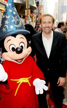 Nicolas Cage and Mickey Mouse at event of The Sorcerer's Apprentice Movie Popcorn, The Sorcerer's Apprentice, Nicolas Cage, Hollywood Actor, Online Gallery, Great Movies, Picture Photo, Mickey Mouse, Disney Characters