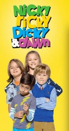 Nicky Ricky Dicky Et Dawn : nicky, ricky, dicky, Nicky, Ricky, Dicky, Ideas, Dawn,, Nickelodeon,, Nickelodeon, Shows