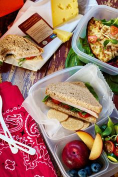 30 days of healthy packed lunches