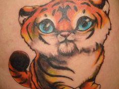 Tiger Cub Tattoo