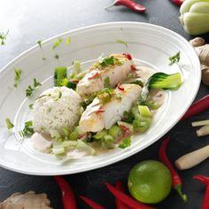 #037:Thaise curry met kabeljauw - Maison van den Boer
