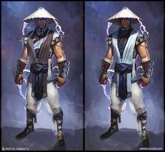 Концепт-арты персонажей Mortal Kombat X - Mortal Kombat 10 (X) - Zobra