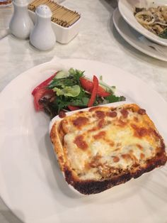 Chicken lasagna.