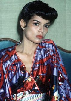 Bianca Jagger Young   bianca jagger   MAD STYLE!