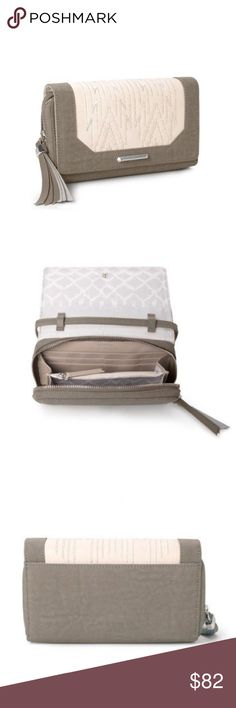 Nolita Crossbody Brand new Nolita Crossbody in winter white/ dove grey! Brand new without tags-PRICE IS FIRM:) Stella & Dot Bags Crossbody Bags