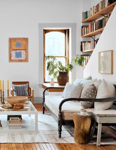a fresh country style living room | room of the week on coco kelley