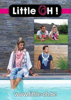 Foulards 4 pans, designed & made in Belgium, finitions et touché de qualité - 60€ ttc/pièce - livraison gratuite en Belgique et en France via www.little-oh.be #foulard #foulards #littleoh #handmade #artisanal #belgium #designer #fetedesmeres #ideecadeau