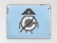 Pira-c Laptop & iPad Skin by Erik Sandi Satresa - $25.00