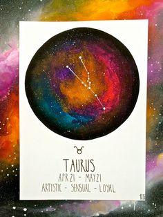 Custom Made Zodiac Constellation - Painting/Illustration by raensunmoon on Etsy