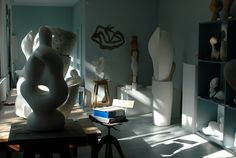 Jean Arp studio