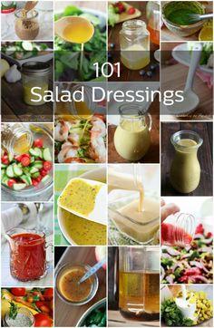 101 Homemade Salad Dressings