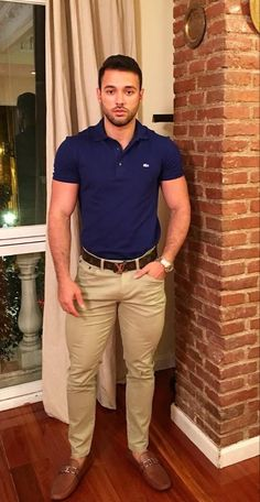 Mode Polo, Stylish Men, Men Casual, Polo Shirt Outfits, Men's Outfits, Polo Shirt Style, Men With Street Style, Business Casual Outfits, Mens Fashion Suits