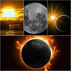 Sometimes, I think of the sun and the moon as lovers who rarely meet, always chase, almost always miss one another. But once in a while, they do catch up, and they kiss, and the world stare in awe of their eclipse.