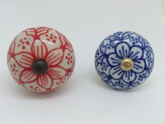 Hey, I found this really awesome Etsy listing at https://www.etsy.com/listing/227448816/cool-summer-floral-knobs-ceramic-knob