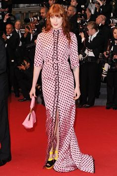2013 - Florence Welch in Miu Miu