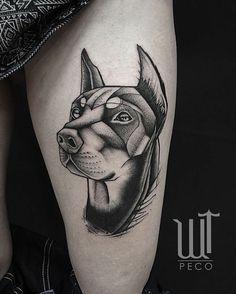 Resultado de imagen para doberman pinscher tattoo
