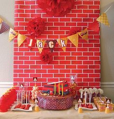 Love the brick wall