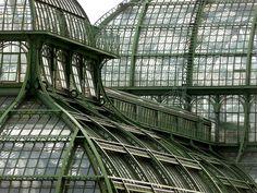 Palm House, Schönbrunn Palace, Vienna Austria