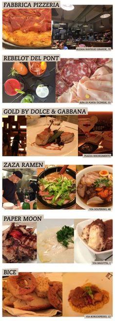 Restaurantes em Milão – os melhores da minha viagem