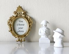 You Choose- Vintage Upcycled Rococo Gold Picture & Photo by petekdesign