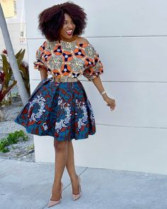 Short African Dresses 2018 ; Amazing Styles You Need Try Now - Zaineey's Blog FacebookTwitterGoogle+WhatsAppAddthis